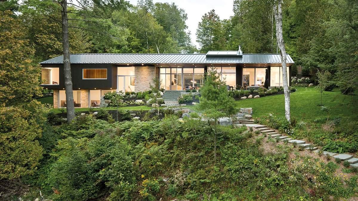 Затишок біля озера: фото неймовірного сімейного будинку у Канаді