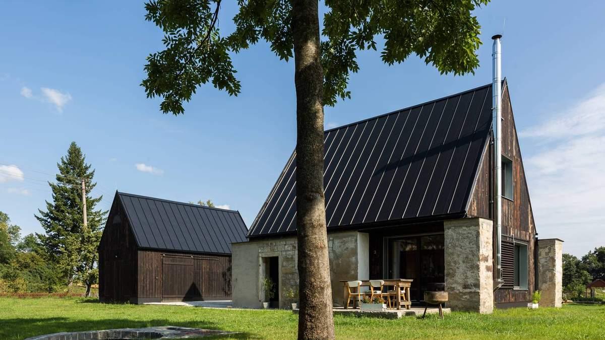 Из сарая – в семейный дом: невероятная трансформация дома в Чехии – фото