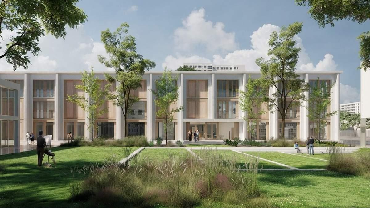 Наука среди открытых пространств: как выглядит новая школа во Франции – фото