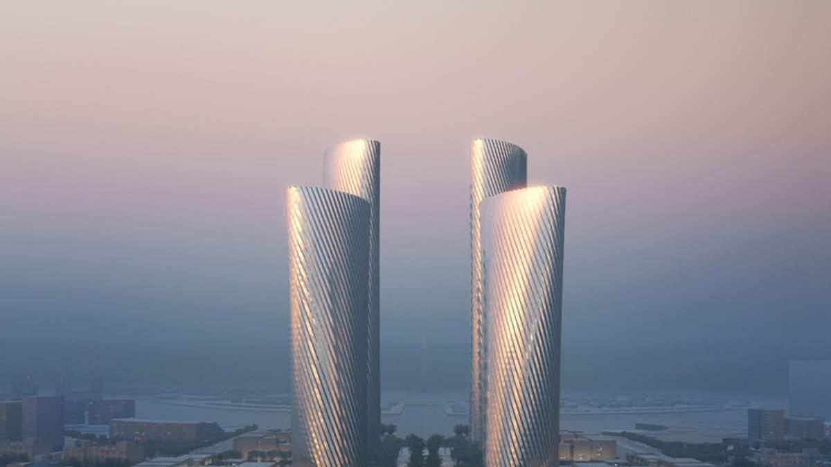 Інноваційні вежі у Перській затоці: немислимий багатофункціональний комплекс у Катарі – фото