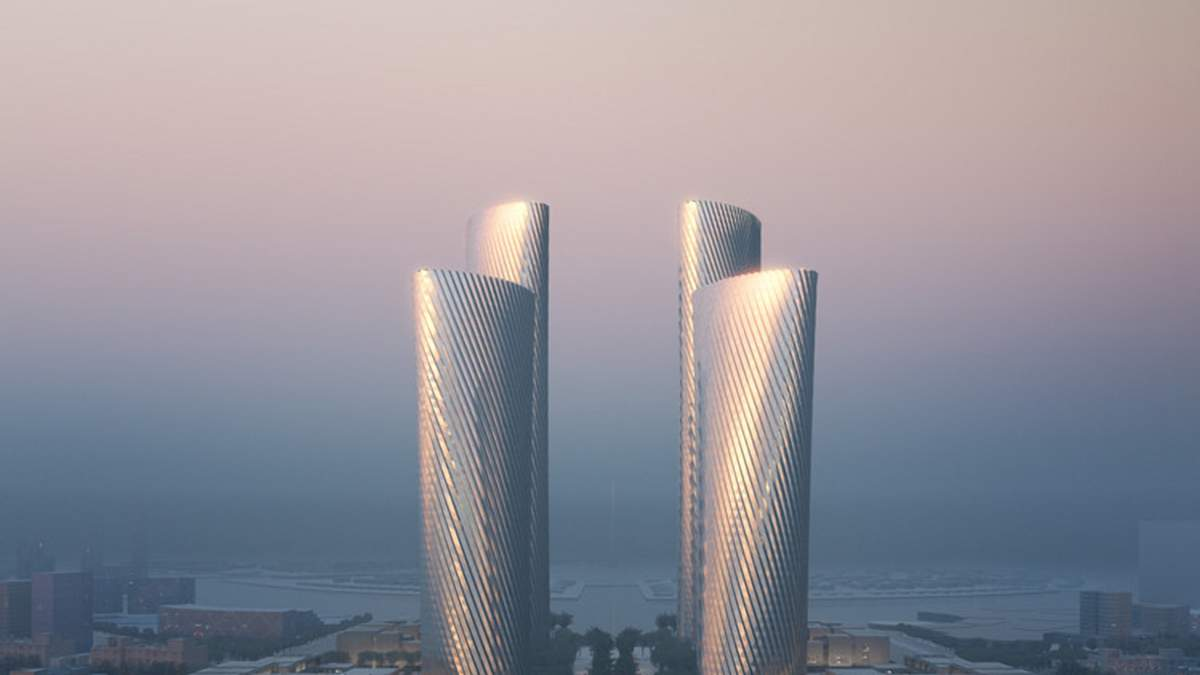 Инновационные башни в Персидском заливе: немыслимый комплекс в Катаре – фото