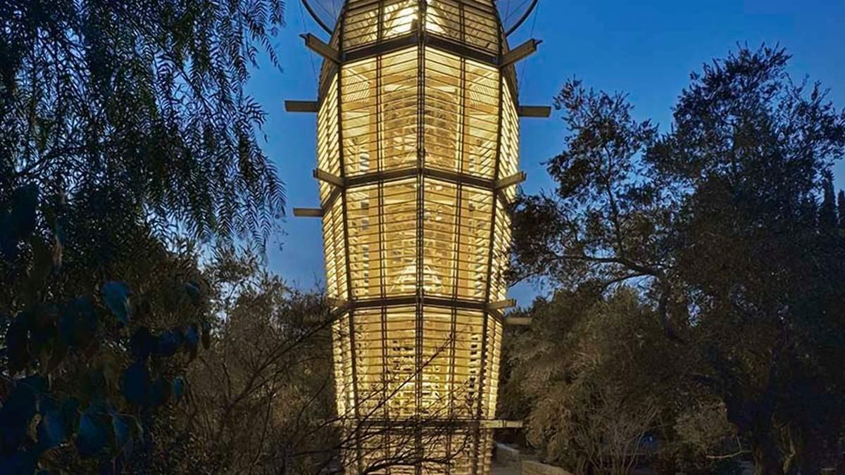 Художественный артефакт и звезды: в центре Иерусалима строят сказочную башню-обсерваторию – фото