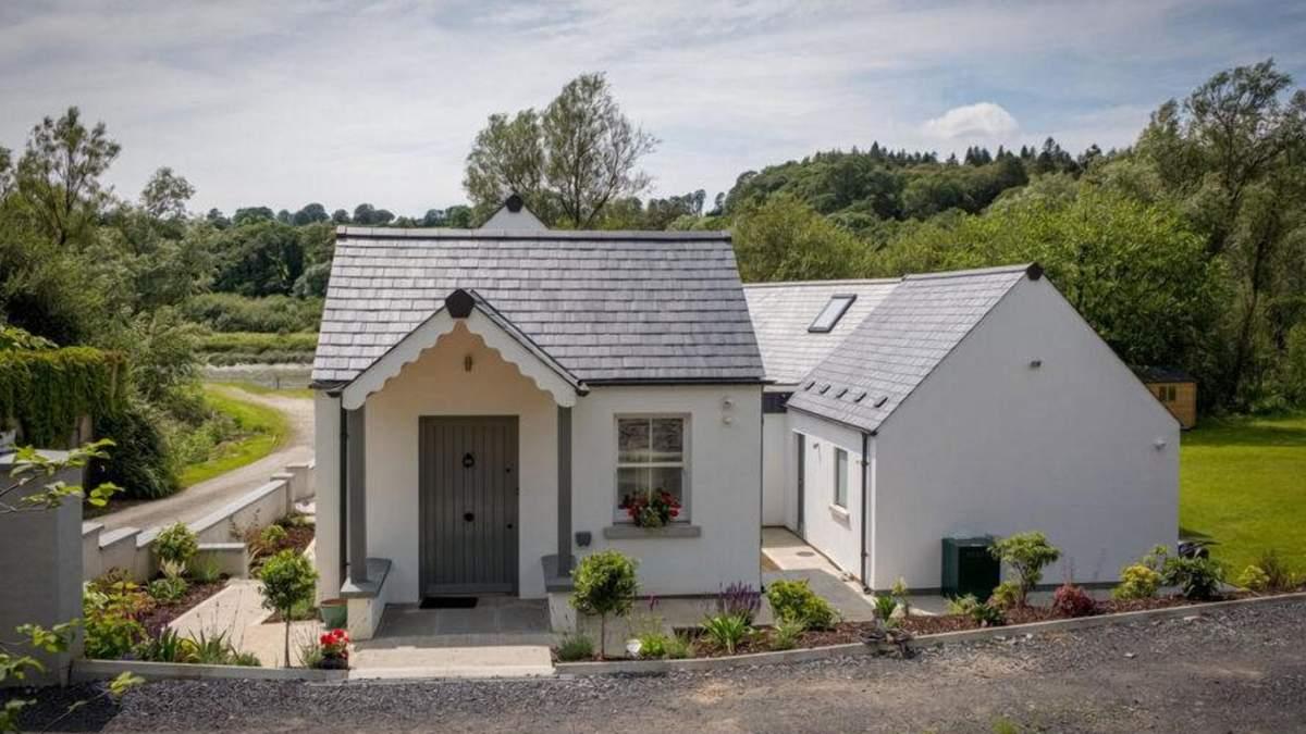 Неторопливость у реки: идея замечательного сельского домике из Ирландии – фото