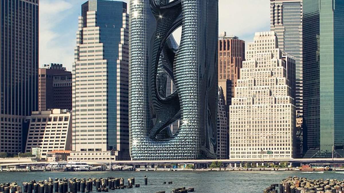 Новий хмарочок на Мангеттені / Фото Designboom