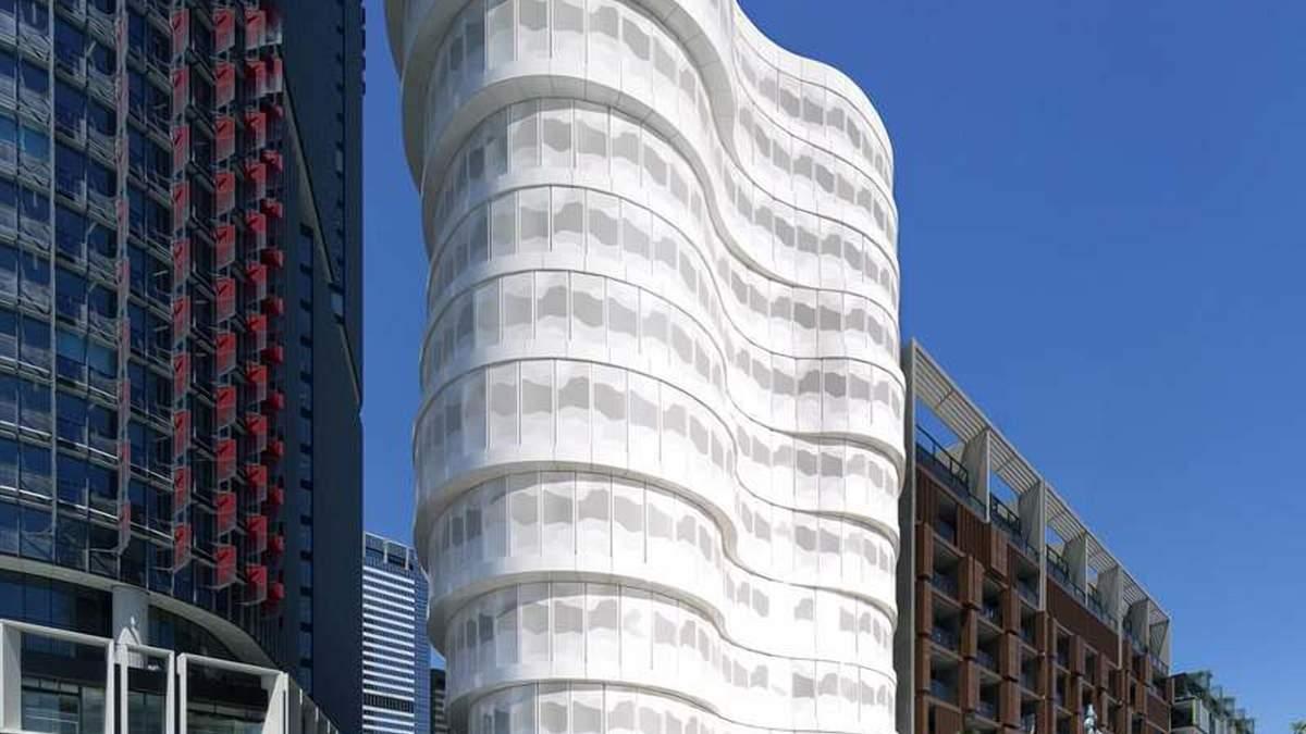 Апартаменты с видом на Тихий океан: криволинейный жилой комплекс в Сиднее