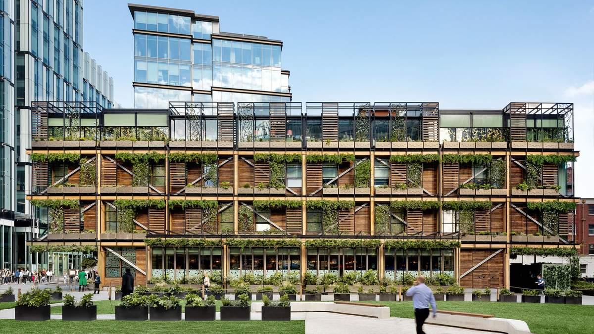 Джунгли делового Манчестера: новый многофункциональный комплекс в Великобритании – фото