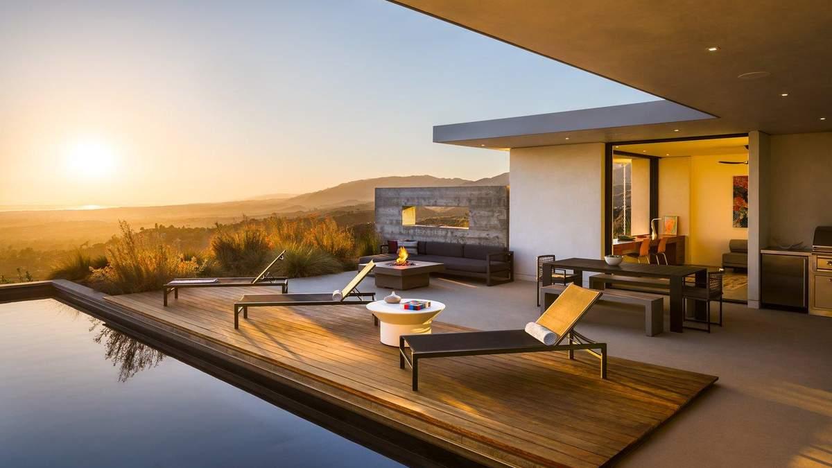 Под небом и с видом на океан: как выглядит дом мечты в Санта-Барбаре