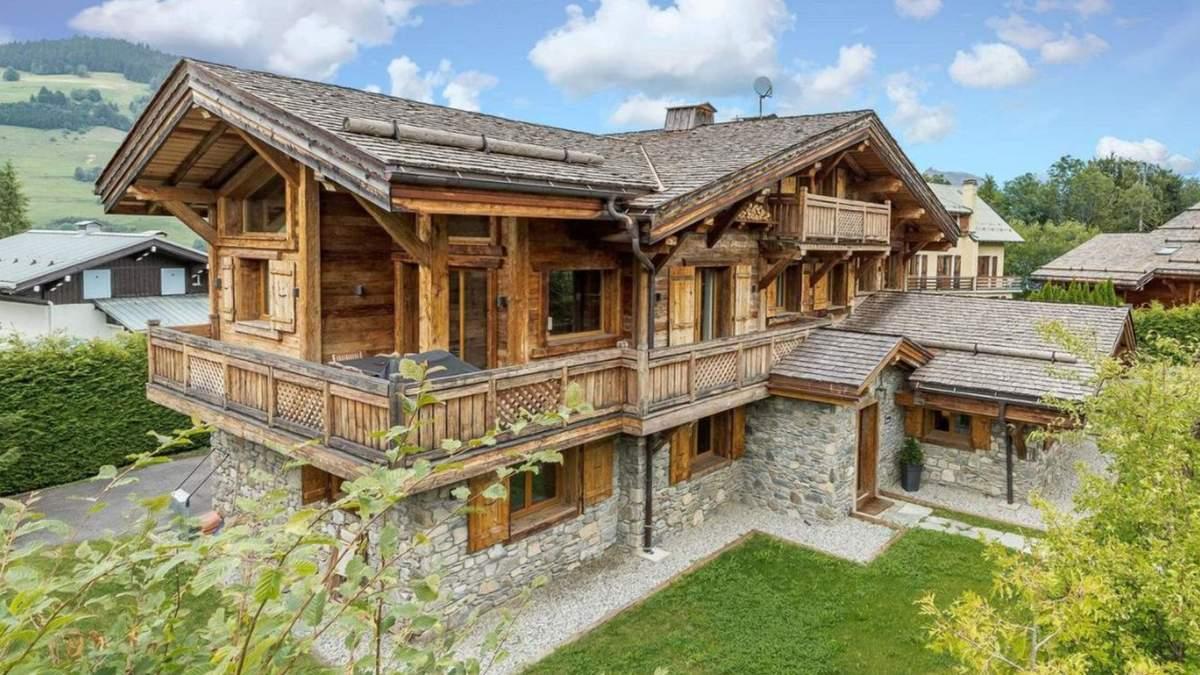 Казковий вигляд на Альпи: варіант розкішного шале у французьких горах – фото