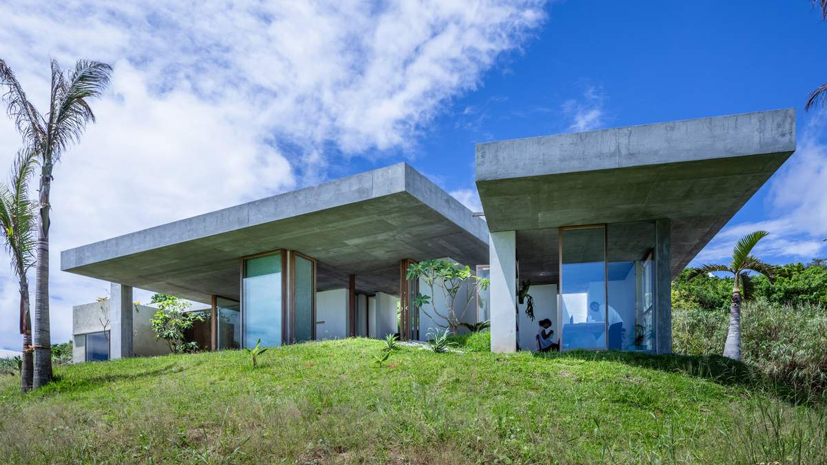 Островной минимализм: славный азиатский дом на Окинаве – фото