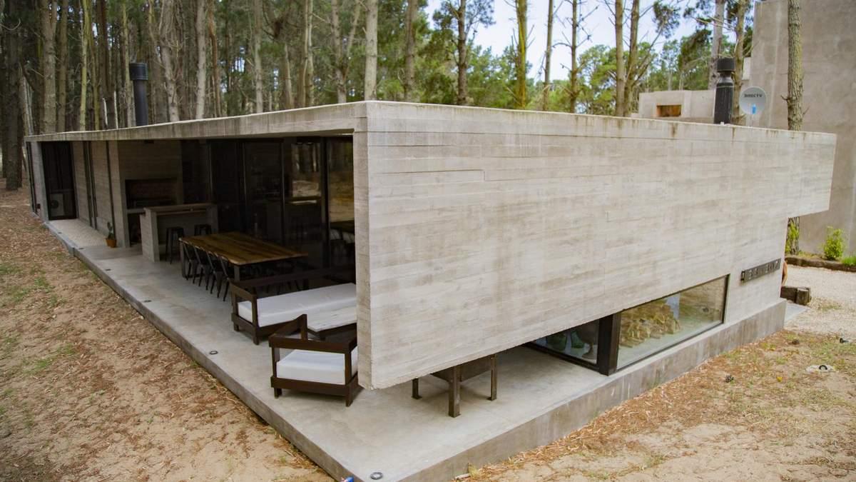 Тишина соснового леса: прекрасный вариант ландшафтной архитектуры в Аргентине – фото