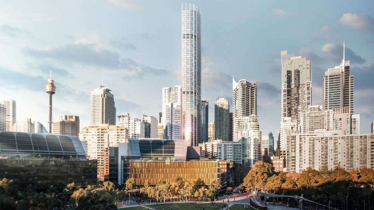 Сила висоти: фото найвищого хмарочосу Сіднею, який незабаром стане реальністю