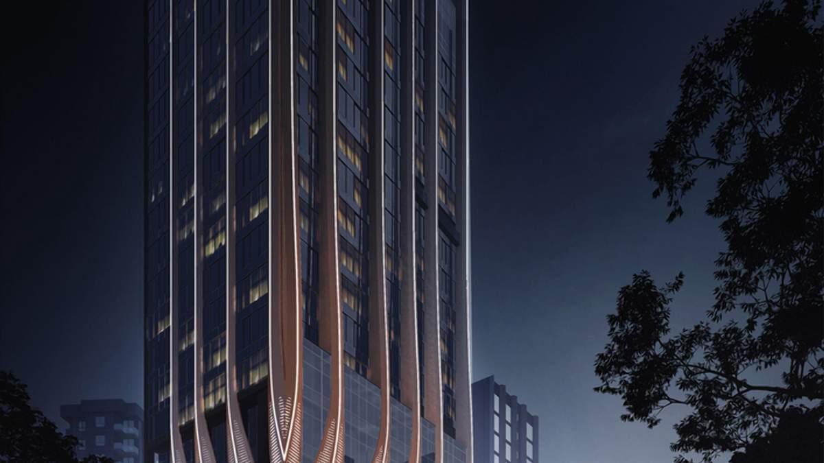 Хвилясті лінії та унікальна форма: новий багатофункціональний комплекс у мільйонному Мумбаї