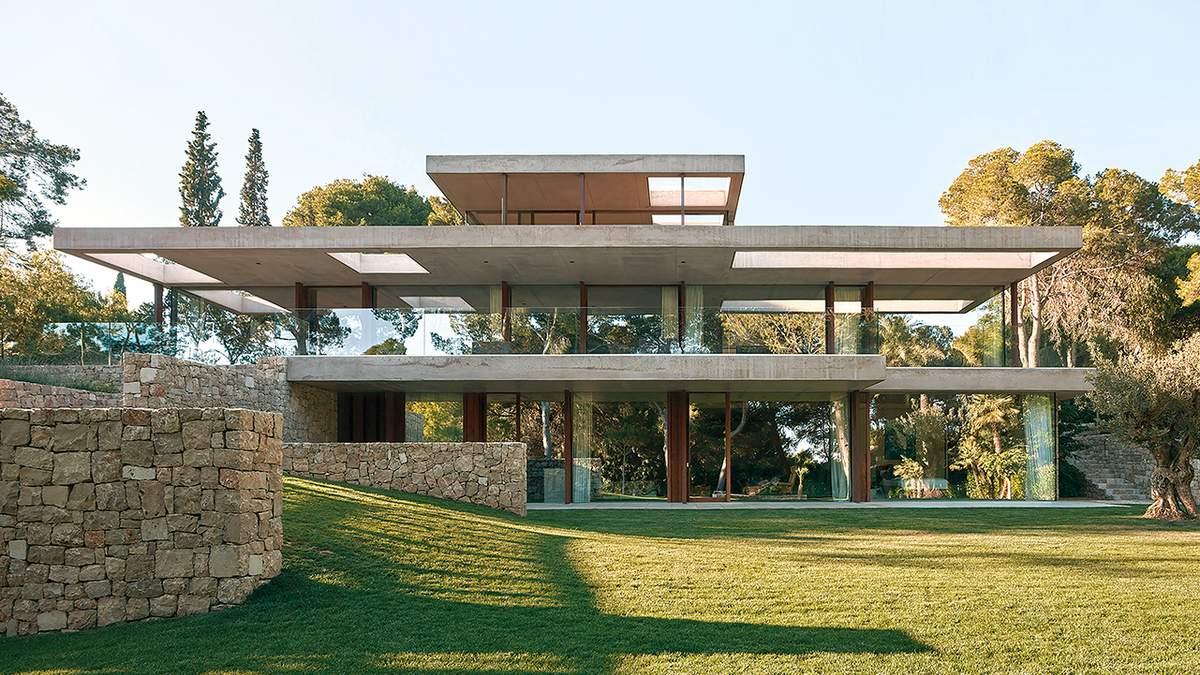 Средиземноморская изысканность с видом на сосны: вариант замечательного дома из Испании