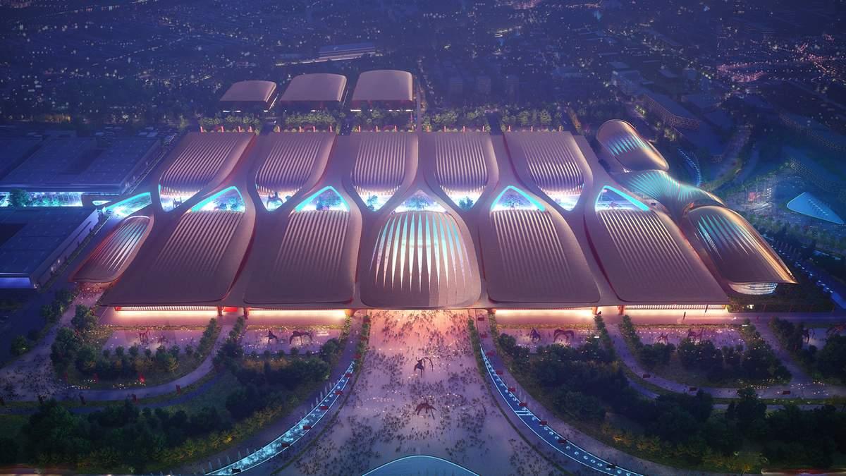 Дивовижний дизайн та унікальний зміст: у Пекіні з'явиться новий  виставковий центр – фото