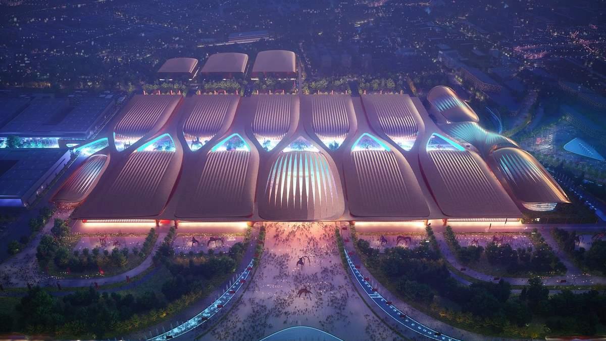 Удивительный дизайн и уникальный смысл: в Пекине появится новый выставочный центр – фото