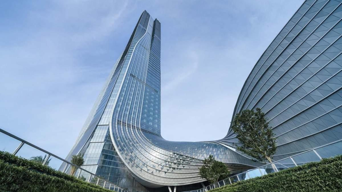 Спиральный небоскреб / Фото Archdaily