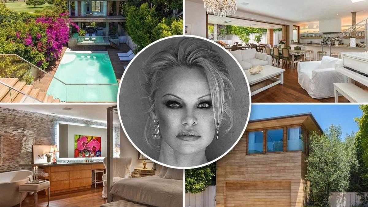Памела Андерсон продає свій розкішний особняк у сонячному Малібу
