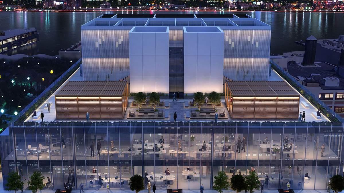 Модернизм и современность: новейшая инновационная лаборатория в центре Нью-Йорка