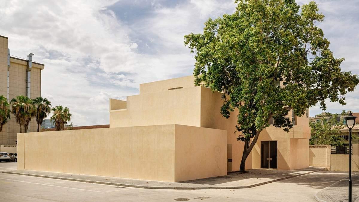 Архитектурное искусство: превращение фабричной бани в художественную галерею