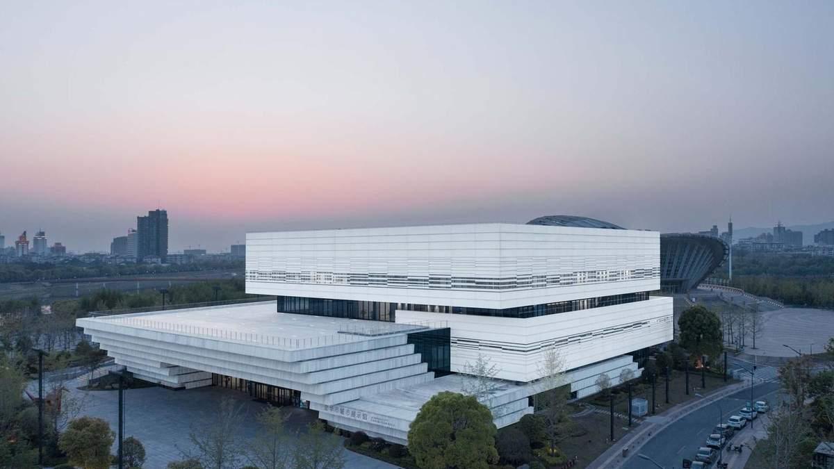 Культурный комплекс как обновление целого района: новая впечатляющая постройка в Китае