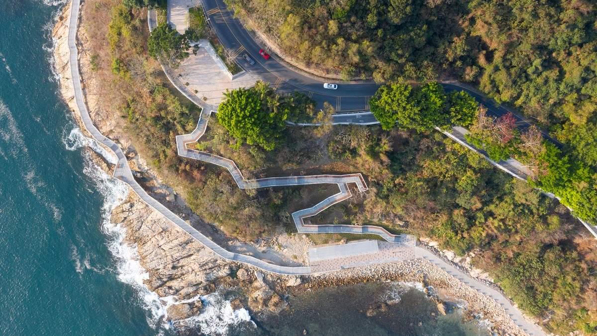 Ландшафтна архітектура: нова вражаюча набережна з мальовничим видом у Шеньчжені