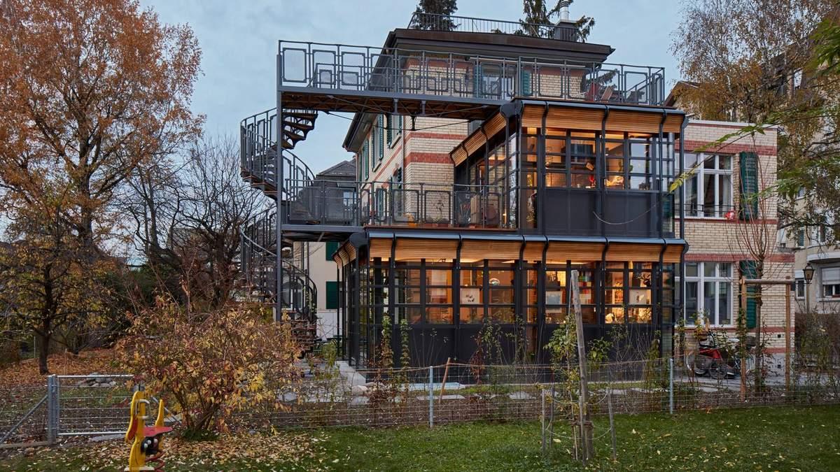 Реконструкция и сохранение исторического наследия: обновленный квартирный дом в Швейцарии