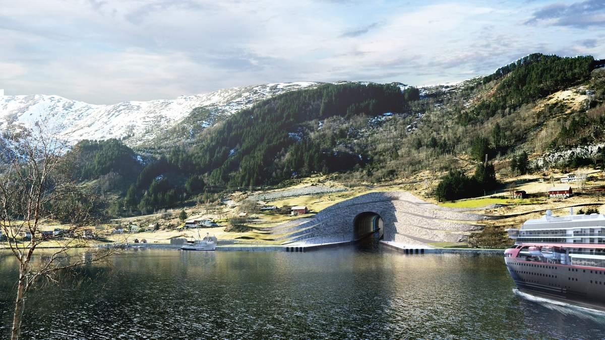 Інноваційне будівництво: перший у світі повномасштабний тунель для кораблів