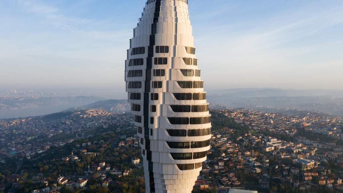 Футуристический модернизм: новая знаковая башня в Стамбуле