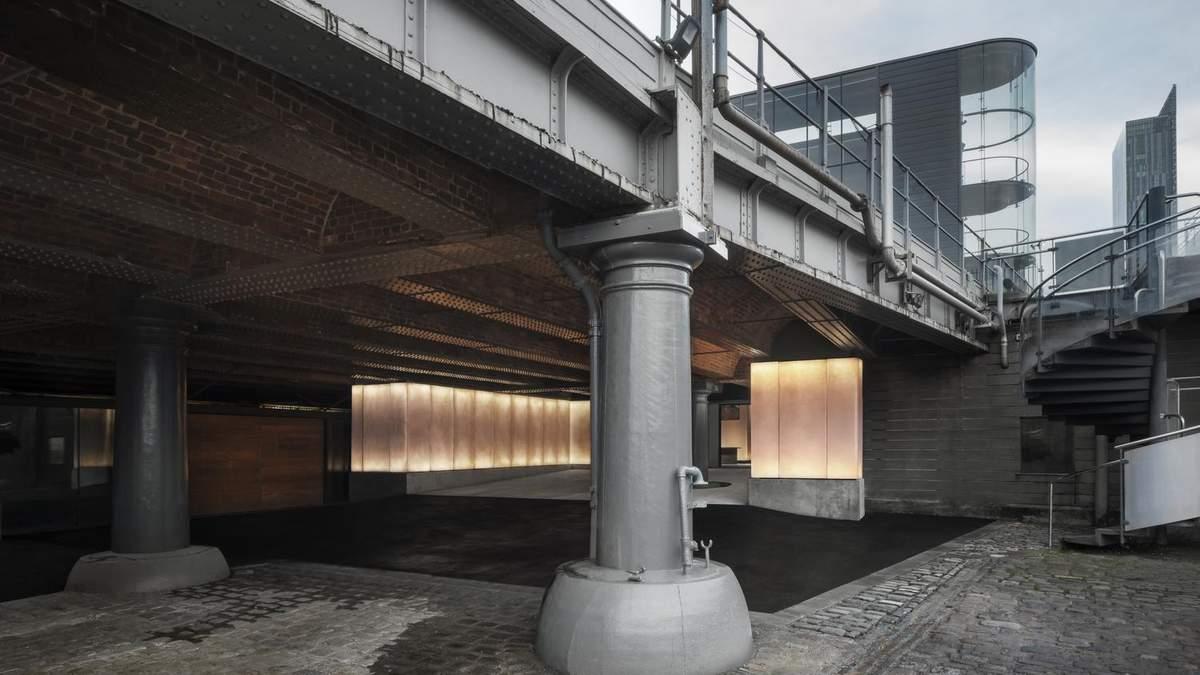 Искусство под мостом: как выглядит новая выставочная галерея в Манчестере
