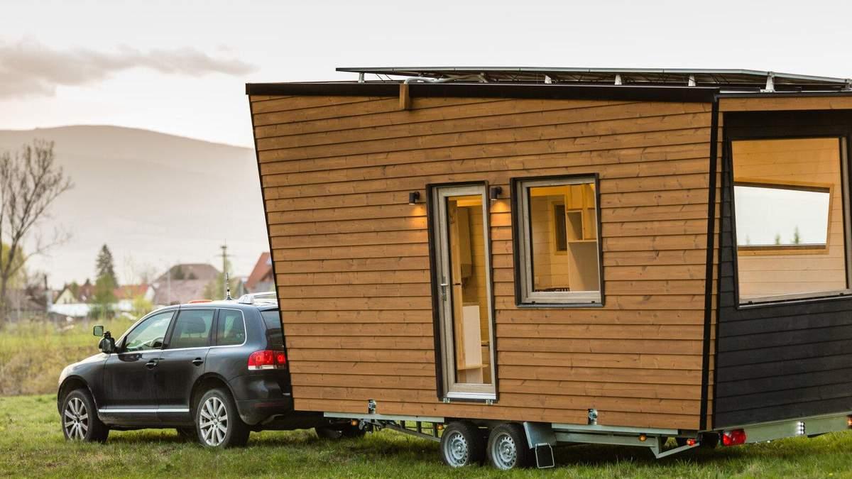 Дім, який завжди з тобою: підбірка крихітних будиночків на колесах