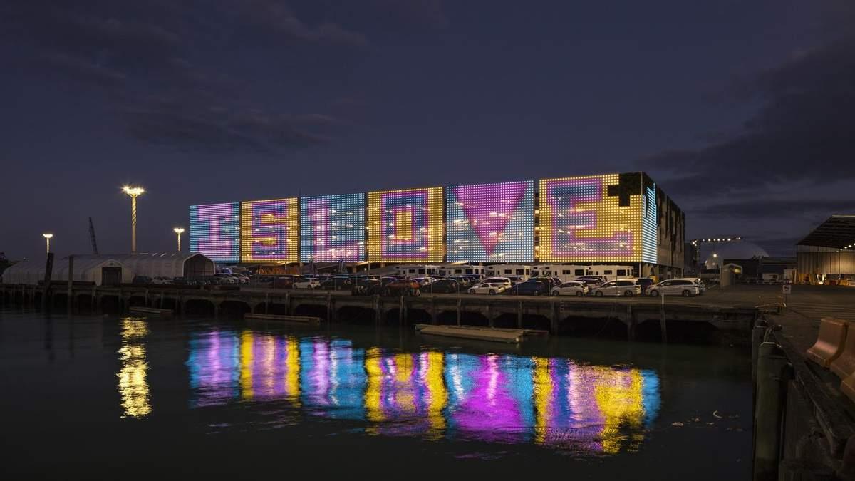 Функциональная архитектура: масштабная стоянка на несколько этажей в Новой Зеландии