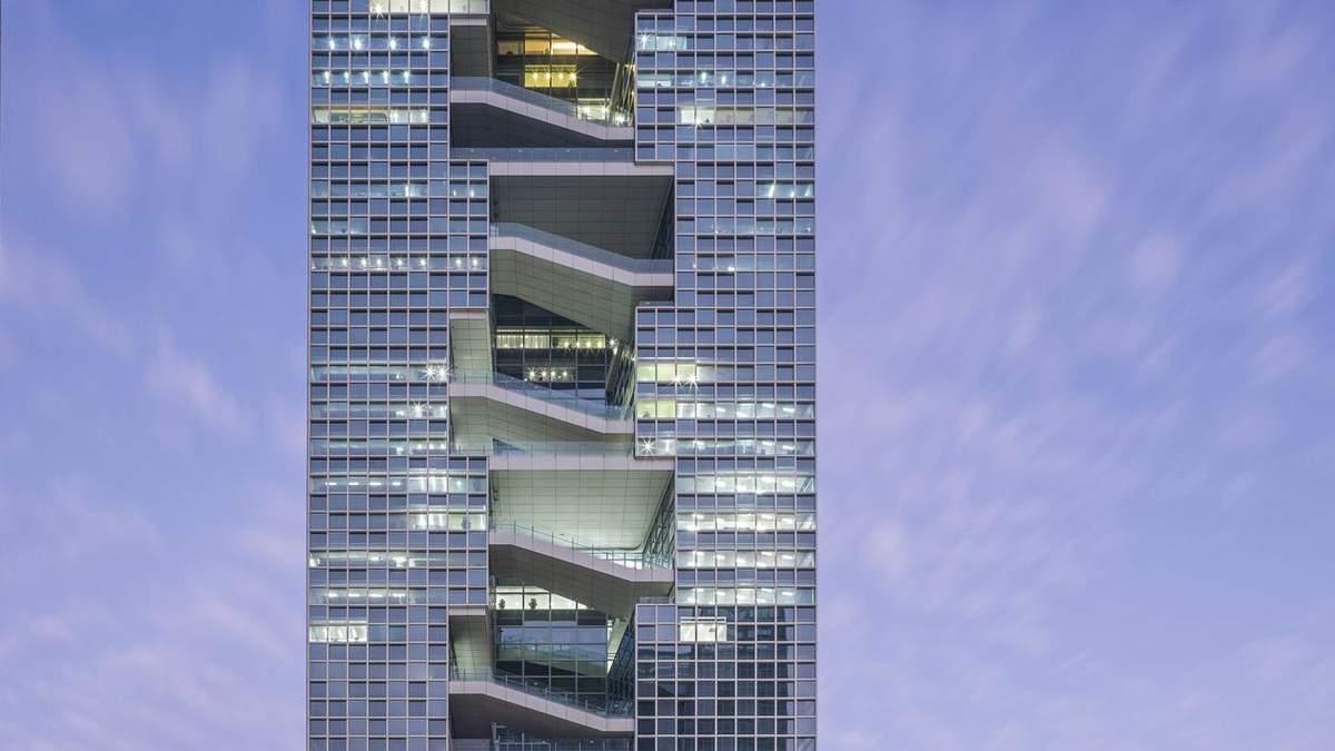 Унікальна перспектива: неймовірна офісна будівля у Китаї