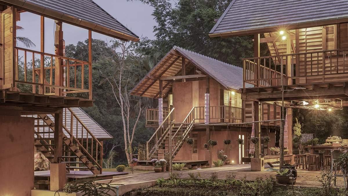 Сохранение народной стройки: поразительно этническое поселение в Таиланде