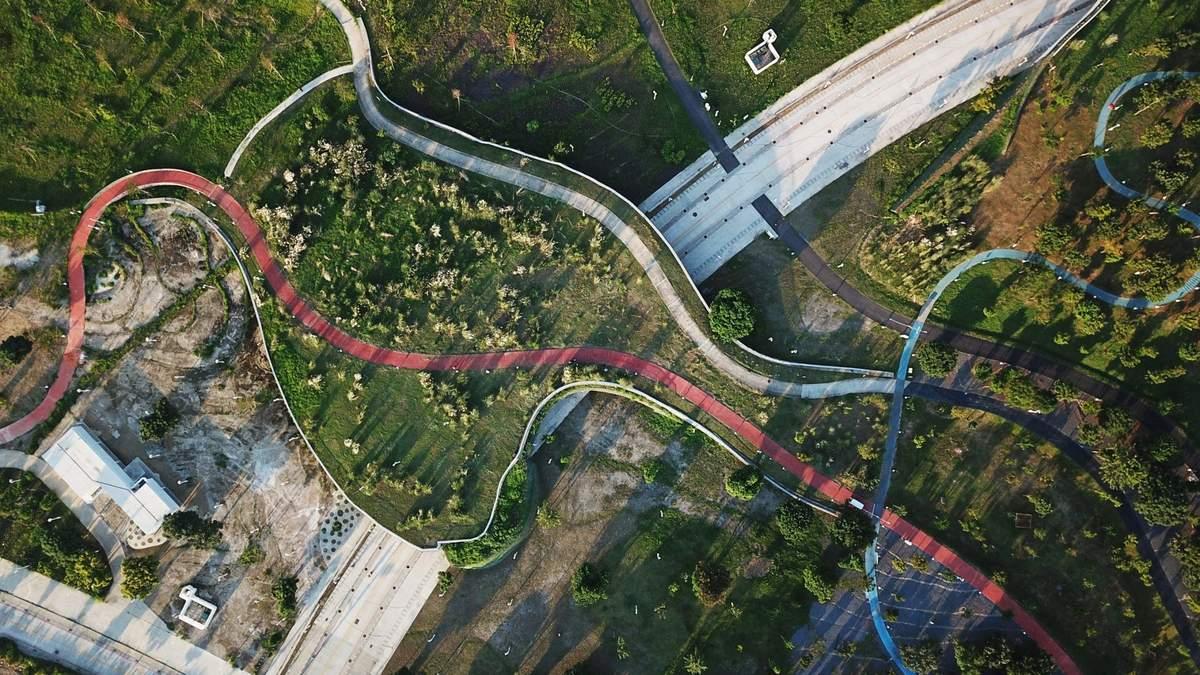 Оазис посеред розрухи: народження парку на місці колишнього аеропорту у Тайвані