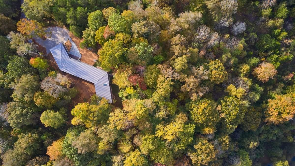 Бегство от мира: среди лесов Теннесси скрыта непревзойденная вилла