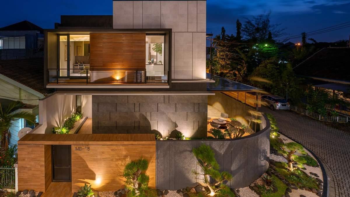Унікальний ландшафтний проєкт: дзен-сад, що огортається навколо будинку
