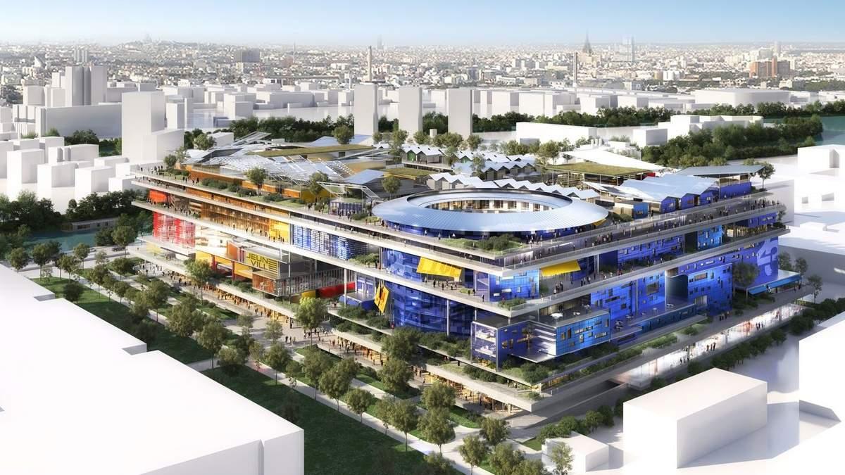 Жилье будущего: как будет выглядеть футуристическая сказка на берегу Сены