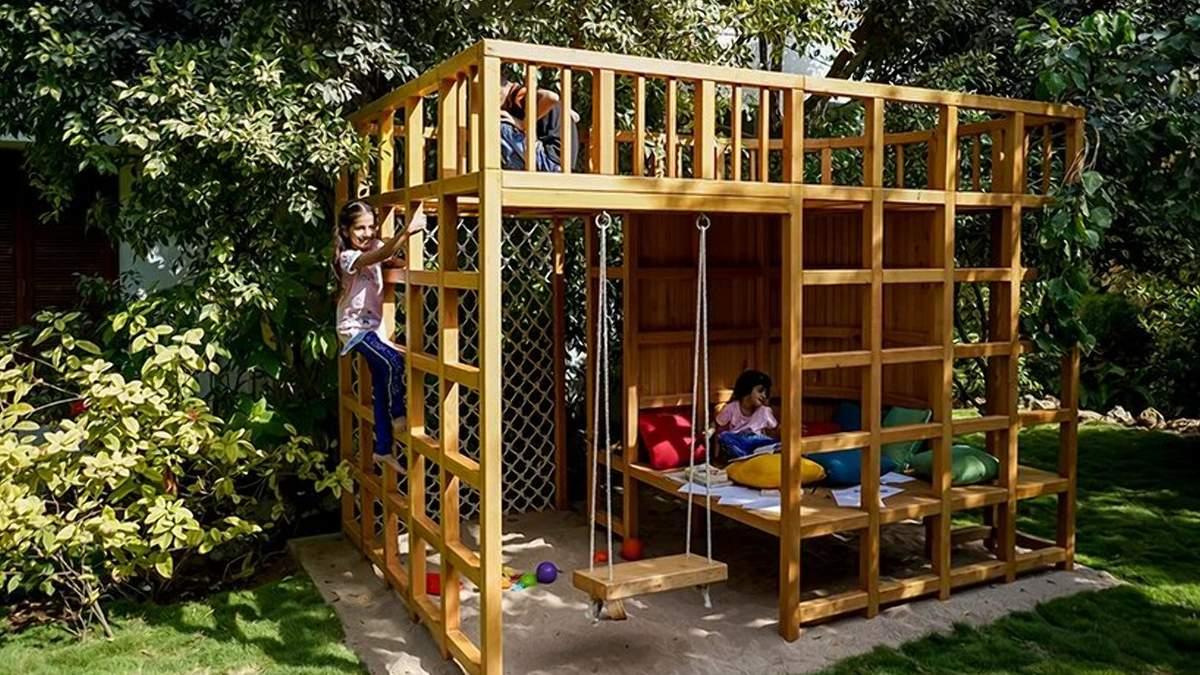 Украшение двора: как легко воплотить детскую мечту