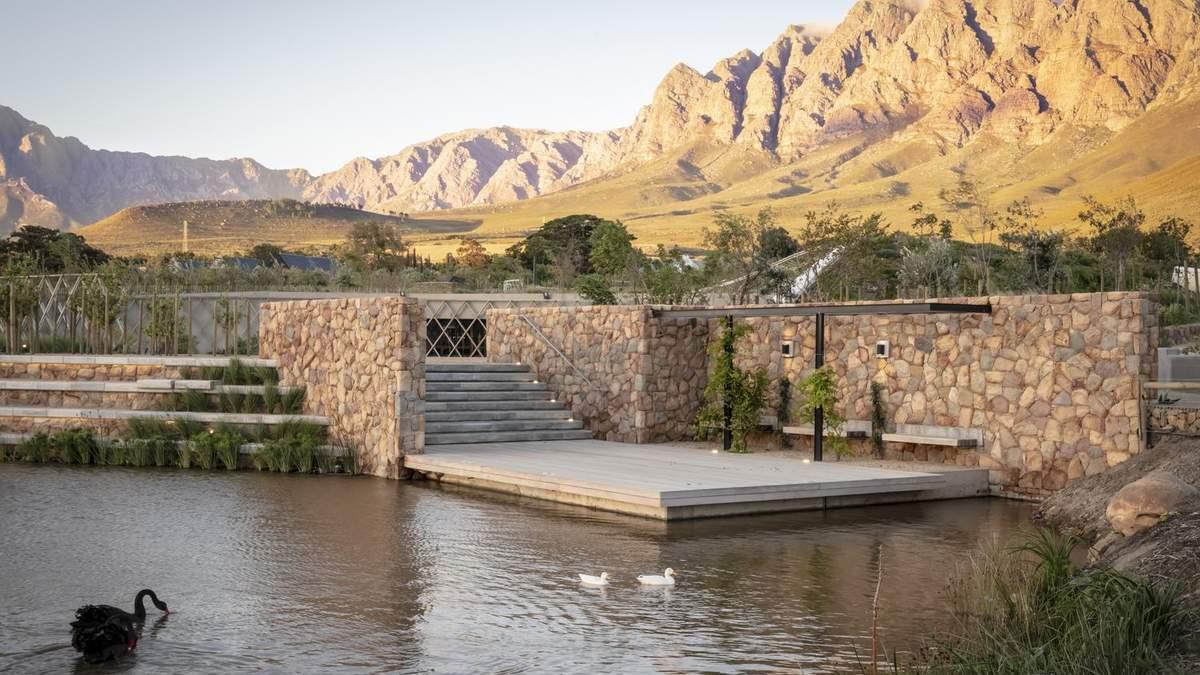 В объятиях природной сказки: волшебный ресторан посреди оазиса Южной Африки
