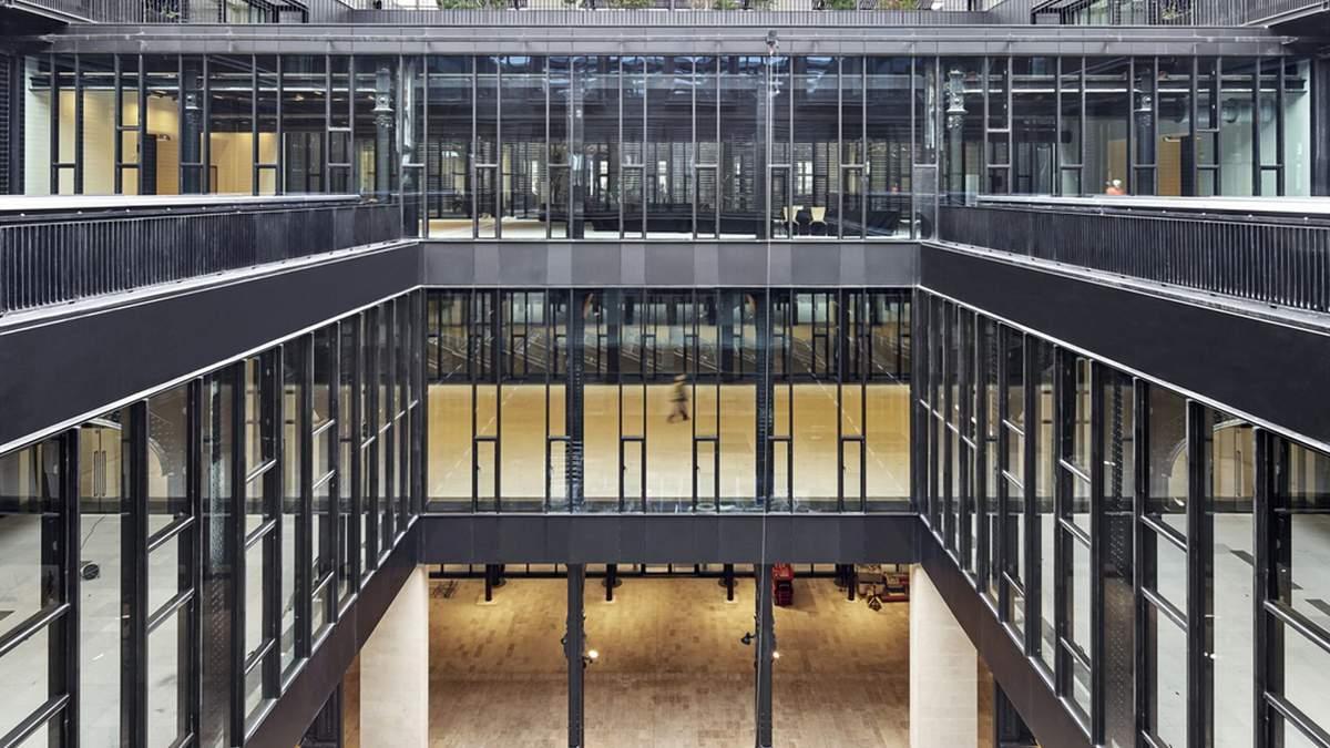 Место коммуникабельности и услуг: трансформация исторического комплекса в Париже
