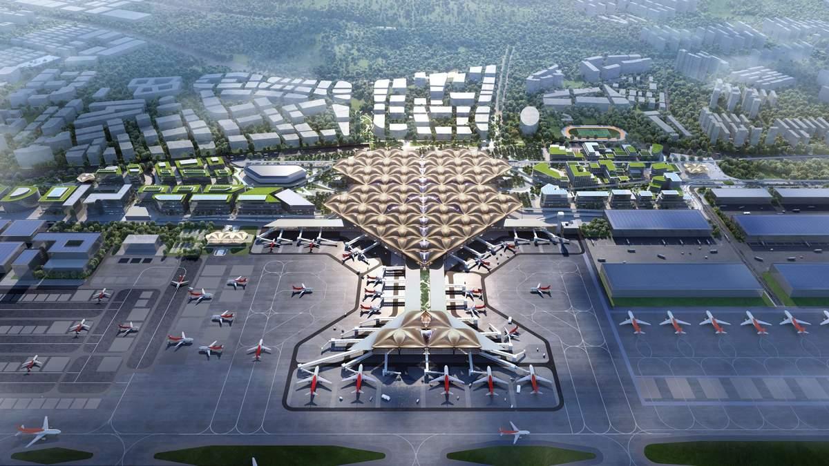 Дивовижна інфраструктура: у Шеньчжені змоделювали транспортний повітряний вузол для аеропорту