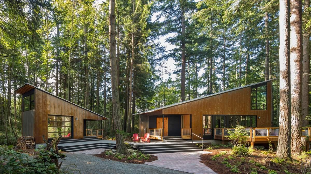 Магия в лесу: как создать небольшой дом, который может стать жильем мечты