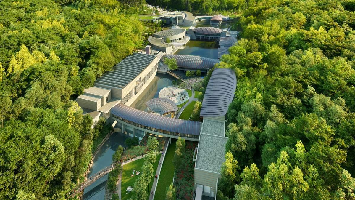 Жемчужина в лесу: как будет выглядеть обновленный музей Crystal Bridges