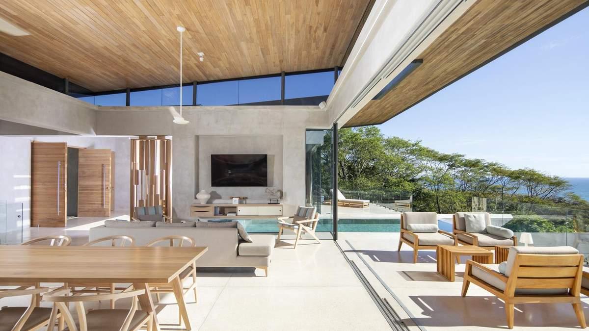Вдома як на пляжі: неймовірна вілла у Коста-Риці, яка потішить любителів сонця