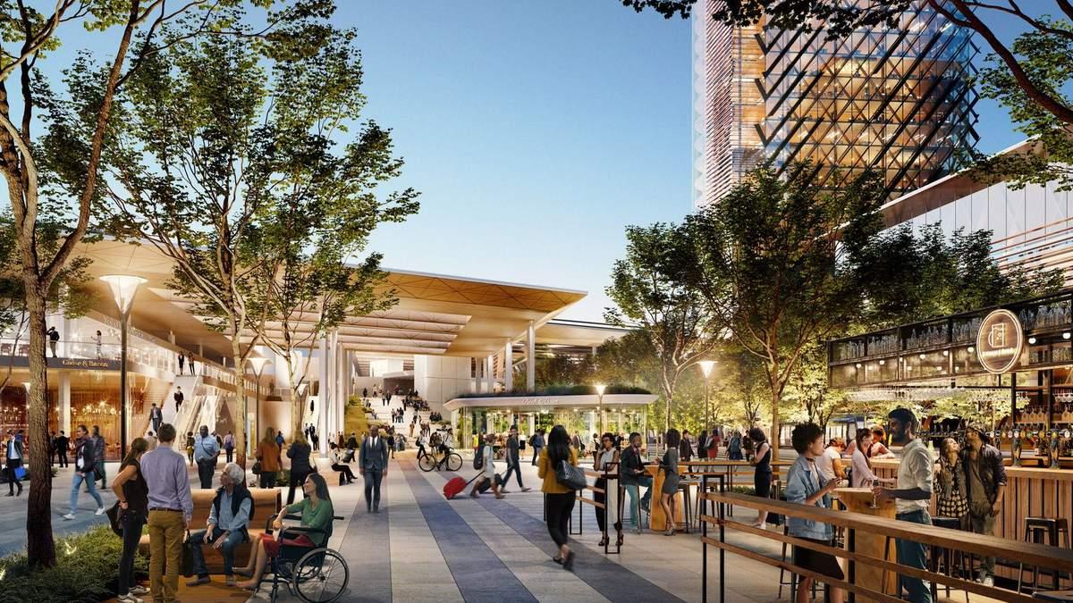 Восторг от будущего: как будет выглядеть новый терминал в Сакраменто