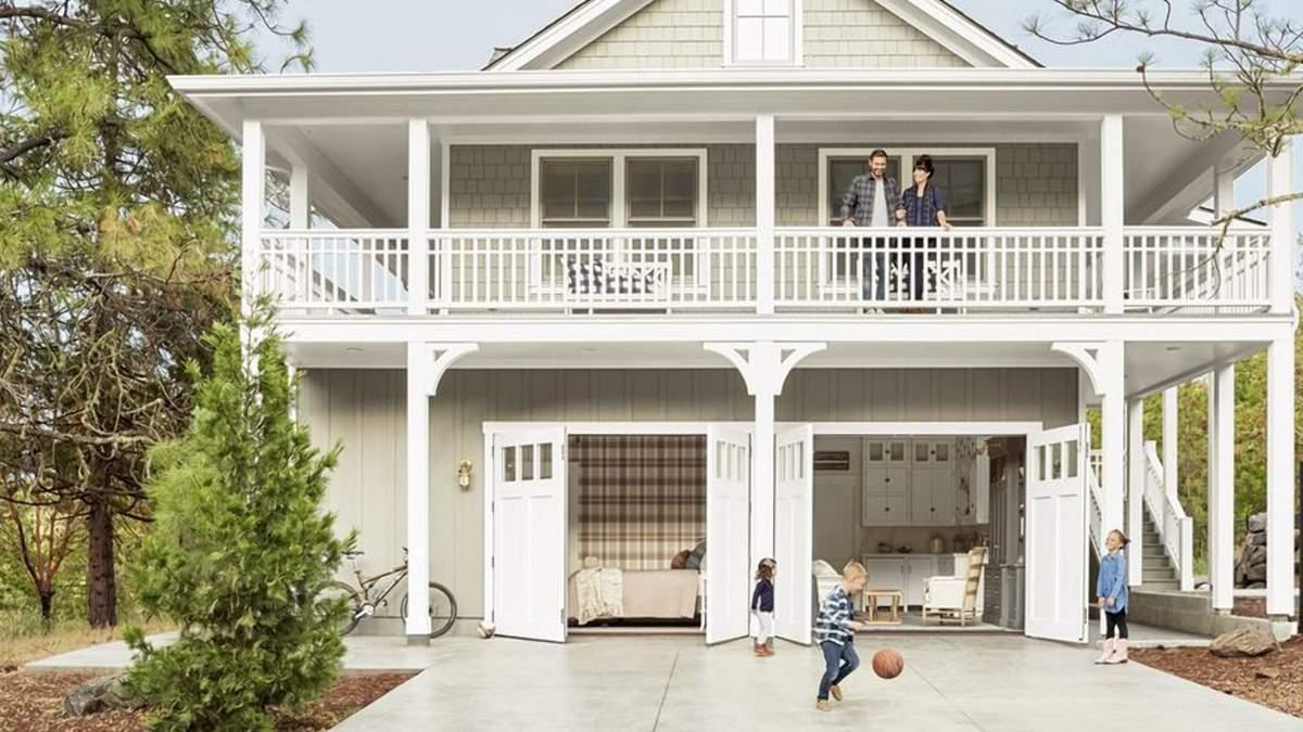 Економія простору та коштів: як гараж став затишним будинком