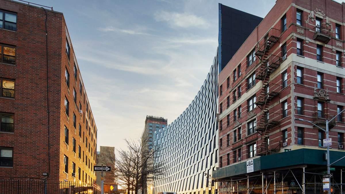 Дом-улыбка: на Манхэттене появился удивительный жилой комплекс