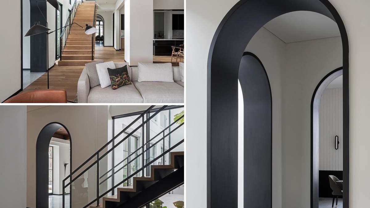 Стильний простір: як цікаво використати арки в інтер'єрі