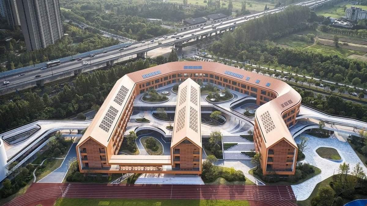 Спортивне майбутнє: у Ханчжоу спорудили експериментальну школу з олімпійських видів спорту