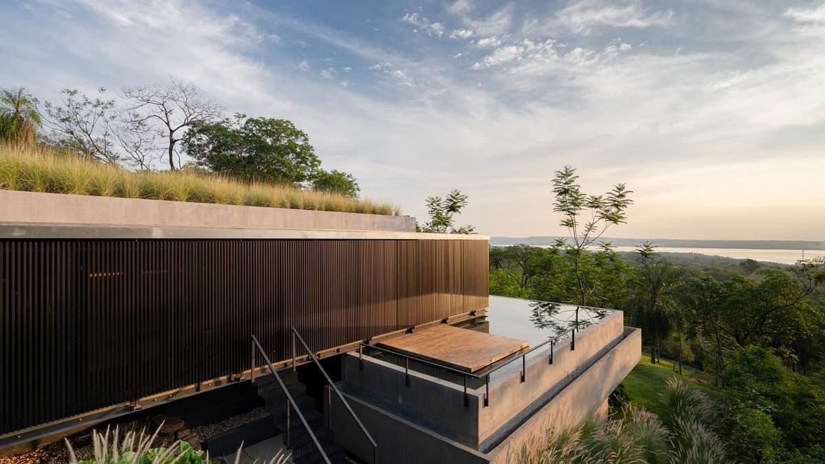 Будинок-горизонт: вілла в Парагваї дивує вишуканістю та положенням